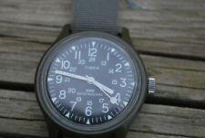 VINTAGE TIMEX WIND UP WATCH - MILITARY 24 HOUR DIAL.