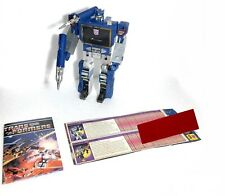 New listing Transformers G1 Soundwave 1985 Incomplete