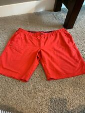 Under Armour Mens Size 42 Red Shorts