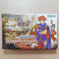 Fire Emblem Fuuin no Tsurugi Game Boy Advance Nintendo GBA Japan F/S