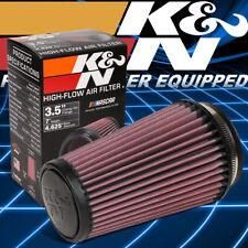 "K&N KN RU-3130 Washable High-Flow Air Intake Cone Filter 3.5""Flange 7""Height"