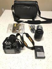 Nikon D D3300 24.2MP Digital SLR Camera - Black (Kit w/ VR 18-55mm and 55-200mm