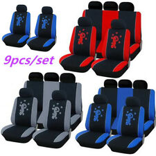 Car Seat Cover Salamander Pattern 9 Set Full Seat Covers for Crossovers Sedans