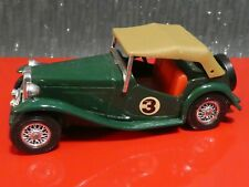 MATCHBOX MODELS OF YESTERYEAR NO Y-8 1945 MG TC DIECAST ENGLAND 1977