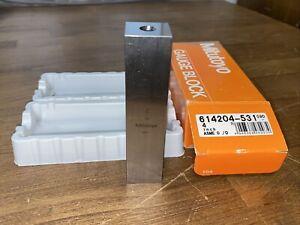 """Mitutoyo 614204-531 4"""" 4 inch Steel Gauge Block"""