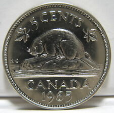 RCM - 1965 - 5-cents - Proof Like - Uncirculated