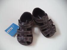 Boys Size 3 Brown Garanimal Sandals With Straps