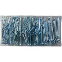 Qty 50 BS1574 Imperial Split Cotter Pins 3//16 dia x 3 3//4 inch long.