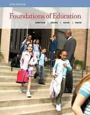 FOUNDATIONS OF EDUCATION 12TH EDITION LEVINE ALLAN ORNSTEIN 9781133589853 NEW