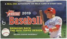 Topps Heritage MLB Baseball Hobby Box 2019 24 Packs