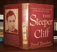 Davidson, David THE STEEPER CLIFF  1st Edition (?) 1st Printing