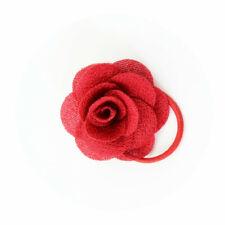 Baby Girls Kids Hair Clip Head Flower Hairpin Cute Hair Accessories Red