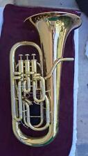 Nice Meinl Weston Melton 451 Euphonium w/ Compensating 4th Valve & Hard Case