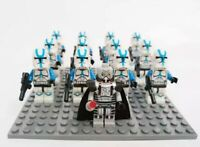 12x 501st Clone Trooper Mini Figures (LEGO STAR WARS Compatible)