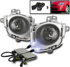 2010 2011 TOYOTA PRIUS LOWER BUMPER CHROME FOG LIGHTS LAMP+HARNESS+10K XENON HID