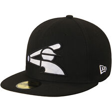c3384580af172 Era Chicago White Sox Black League Basic 59fifty Fitted Hat 7 3 8