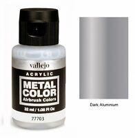 VAL77703 Metal Color - Dark aluminium 32ml   VALLEJO AIRBRUSH COLORS