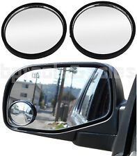 """2pc 2"""" Universal Wide Angle Convex Blind Spot Rear Side View Mirrors Car Truck"""