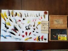 New listing Vintage Mixed Lot of Fly Fishing Poppers & Flies