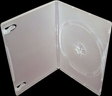 50 Genuine Clear Amaray Single DVD Cases