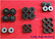 1965 - 1974 Cadillac Rubber Body Mount Set 65 - 74 - UNIVERSAL APPLICATIONS