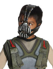 Batman Dark Knight Movie Bane 3/4 Mask Child Costume Licensed DC Comics