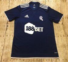 Bolton Wanderers Jersey Adidas 2012-13 EFL England Soccer Football Blue LARGE
