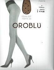 Oroblu Adelle Strumpfhose kleine punkte Allover 20 den Nude XL 44-46