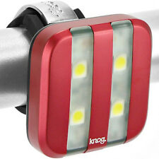 Knog Blinder 4 Bicycle LED Headlight Red Stripe - Brand New