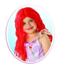 Fancy Dress ~ Childs Disney The Little Mermaid Ariel Wig