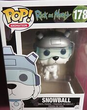 """BRAND NEW POP ANIMATION, """"RICK AND MORTY"""", SNOWBALL, #178, VINYL FIGURE"""