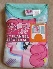 MY LITTLE PONY *Pinky Pie* L/S Shirt Micro Fleece Pajamas Pjs Girls sz 7/8
