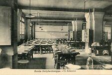 Carte PARIS Ecole Polytechnique Un Réfectoire