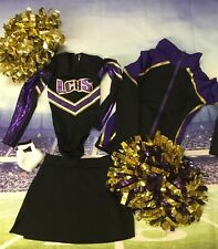 Real Cheerleading Uniform Youth Girls 9/10