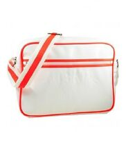 REDSKINS WHITE ORANGE HANDBAG SHOULDER MESSENGER CROSS BODY BAG A4 NEW!!!