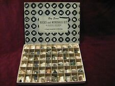 Vintage Boy Scout Rocks and Minerals Kit 60 Selected Specimens includes all Excl