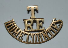 T RE HOME COUNTIES SHOULDER TITLE