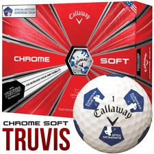 Callaway Chrome Soft truvis édition spéciale European Tour Golf Balles-Douzaine Pack