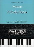 MOZART EARLY PIECES (25) Ferguson EPP67 Piano