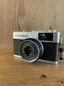 Exc+5 Olympus Trip 35 Point & Shoot Film Camera 40mm F/2.8 Lens From Japan