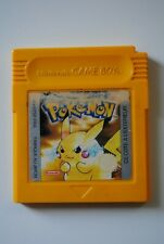 CONSOLE NINTENDO GAME BOY JEU POKEMON VERSION JAUNE