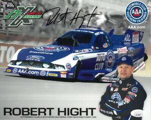 Robert Hight signed Southern California Funny Car NHRA 8x10 Photo- JSA #II11057
