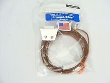 NEW Omega EXTT-C-24 Type C Thermocouple Extension Cable F-F Bulkhead Mount 92""