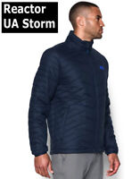 UNDER ARMOUR UA COLDGEAR REACTOR JACKET MENS DOWN FILL STORM 1303058-409 LARGE