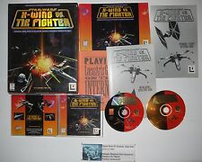 Star Wars: X-Wing vs. TIE Fighter (PC, 1997) Complete in Box CIB Wow!