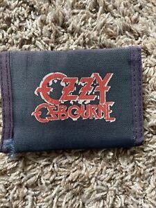 Vintage Wallet OZZY Osbourne - tear in fabric - see pics