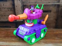 Imaginext Joker Tank with Figure and Glove Missile Batman