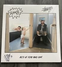 Slaves - SIGNED And Sealed Acts Of Fear And Love Vinyl