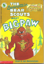 THE BERENSTAIN BEAR SCOUTS MEET BIGPAW by Stan & Jan Berenstain SCHOLASTIC APPLE