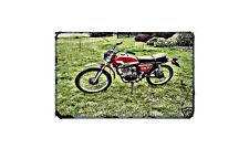 Garelli Kl50 Tiger Motorbike A4 photo Retro Bike